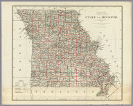 Department Of The Interior General Land Office J.A. Williamson, Commissioner. State of Missouri. 1878. Compiled from the official Records of the General Land Office and other sources by C. Roeser, Principal Draughtsman G.L.O. Photo lith & print by Julius Bien 16 & 18 Park Place N.Y.