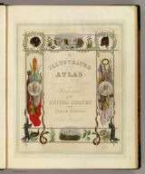 Title Page: Illustrated atlas ... of the United States.