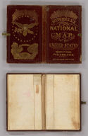 Cover: Mitchell's national map of the American Republic.