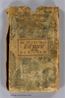 (Covers to) A Map of the State Of New York. By Simeon DeWitt, Surveyor General Contracted from his large Map of the State 1804. Entered ... 19th day March 1804 by Simeon DeWitt ... New York. G. Fairman del. & Sculp. ...