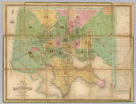 Plan of the City Of Baltimore Compiled From Actual Survey By Fielding Lucas, Jr. Baltimore Published by Fielding Lucas Jr. 170 Market St. Published by F. Lucas Jr. Baltimore and Improved to 1852. B.T. Welch & Co. Sc. Entered ... 1852 by F. Lucas Jr. ... Maryland.