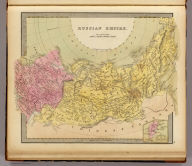 Russian Empire. (with) Continuation of Kamtchatka.