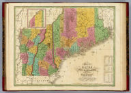 Map of Maine New Hampshire And Vermont, Compiled From the Latest Authorities. (with) North Part of Maine. D.H. Vance Del. J.H. Young Sc. Philadelphia Published by A. Finley 1826.