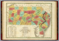 Map Of Pennsylvania New Jersey And Delaware Constructed from the Latest Authorities 1825. D.H. Vance del. J.H. Young Sc. Published by A. Finley Philada.