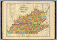 Map of Kentucky And Tennessee Compiled from the Latest Authorities. D.H. Vance Del. J.H. Young Sculp. Philadelphia Published by A. Finley.