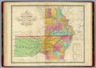 Map of the State of Missouri And Territory of Arkansas Compiled From The Latest Authorities. Drawn by D.H. Vance. Engraved by J.H. Young. Published by A. Finley Philadelphia 1826.