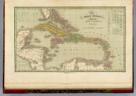 The West Indies from the Best Authorities. J.H. Young Sc. Philadelphia Published by A. Finley 1826.
