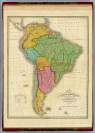 Map of South America According To The Latest and Best Authorities. 1826. D.H. Vance del. J.H. Young sc. Published by A. Finley Philada.
