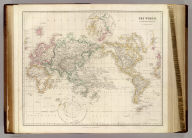 The World, on Mercators Projection, by J. Arrowsmith. (Map) 2. London, Pubd. 15 Feby. 1844, by J. Arrowsmith, 10 Soho Square.