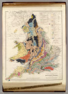 The Inland Navigation, Rail Roads, Geology and Minerals of England & Wales, By J. Arrowsmith. (Map) 5. London, Pubd. 15 Feby. 1842, by J. Arrowsmith, 10 Soho Square.