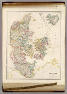 Denmark, By J. Arrowsmith. (with) inset map of Iceland. (Map) 9. London, Pubd. 15 Feby. 1842, by J. Arrowsmith, 10 Soho Square.