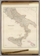 South Italy, By J. Arrowsmith. (with) The Maltese Islands. (Map) 18. London, Pubd. 15 Feby. 1842, by J. Arrowsmith, 10 Soho Square.