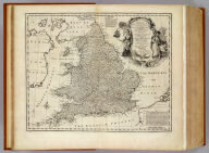 A new and very accurate map of South Britain, or England and Wales. Drawn from a great number of particular surveys, assisted by some of the most approved maps & charts. Containing all the cities, boroughs, market towns &c. With the principal direct & cross roads, also exhibiting the distances between the towns situated upon each road, together with the post stages &c. The whole being regulated by astronomical observatns. By Eman. Bowen. (London: Printed for William Innys, Richard Ware, Aaron Ward, J. and P. Knapton, John Clarke, T. Longman and T. Shewell, Thomas Osborne, Henry Whitridge ... M.DCC.XLVII)