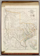 Map of Texas, compiled from Surveys recorded in the Land Office of Texas, and other Official Surveys, By John Arrowsmith. Soho Square, London. (with) Plan of Galveston Bay from a M.S. (with) inset map of the Western United States, Texas and Mexico. London, Pubd. 8th June, 1843, by John Arrowsmith, 10 Soho Square.