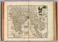A new and accurate map of the Empire of the Great Mogul, together with India on both sides the Ganges, and the adjacent countries. Drawn from the most approved modern maps and charts: the whole being regulated by astronl. observations, by Eman: Bowen. (London: Printed for William Innys, Richard Ware, Aaron Ward, J. and P. Knapton, John Clarke, T. Longman and T. Shewell, Thomas Osborne, Henry Whitridge ... M.DCC.XLVII)