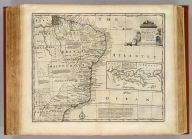 A new & accurate map of Brasil. Divided into its captainships. Drawn from the most approved modern maps & charts, and regulated by astronomical observations. By Eman. Bowen. (London: Printed for William Innys, Richard Ware, Aaron Ward, J. and P. Knapton, John Clarke, T. Longman and T. Shewell, Thomas Osborne, Henry Whitridge ... M.DCC.XLVII)