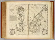 A new & accurate map of Bermudas or Sommer's Islands ..., An accurate map of the Island of St. Christopher, vulgarly called St. Kits ... By Eman. Bowen. (London: Printed for William Innys, Richard Ware, Aaron Ward, J. and P. Knapton, John Clarke, T. Longman and T. Shewell, Thomas Osborne, Henry Whitridge ... M.DCC.XLVII)
