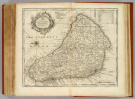 An accurate map of the Island of Barbadoes. Drawn from an actual survey containing all the towns, churches, fortifications, roads, paths, plantations &c. By Eman. Bowen. (London: Printed for William Innys, Richard Ware, Aaron Ward, J. and P. Knapton, John Clarke, T. Longman and T. Shewell, Thomas Osborne, Henry Whitridge ... M.DCC.XLVII)