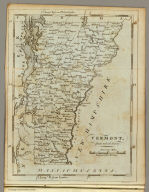 Vermont, from actual Survey. Engraved for M. Carey. Seymour fc.