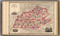 Johnson's Kentucky And Tennessee By Johnson & Browning. No. 34-35.