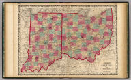 Johnson's Ohio And Indiana, By Johnson & Browning. No. 36-37.