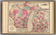 Johnson's Michigan And Wisconsin, By Johnson & Browning. No. 38-39.