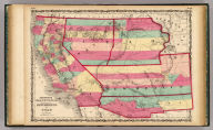 Johnson's California, Territories of New Mexico And Utah By Johnson & Browning. No. 47-48.