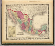 Johnson's Mexico By Johnson & Browning. (with) Territory And Isthmus Of Tehuantepec. No. 49.
