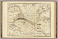 The Atlantic Ocean by Governor Pownall, F.R.S. Published 20th Septr. 1787, by Robt. Sayer, 53 Fleet Street, London.