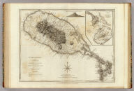St. Christophers, or St. Kitts, surveyed by Anthony Ravell Esqr., Surveyor General of the islands of St. Christopher, Nevis & Montserrat. Engraved by Thomas Jefferys, Geographer to the King. London, printed for Robt. Sayer, Map & Printseller, no. 53 in Fleet Street, as the Act directs 20th Feby. 1775.