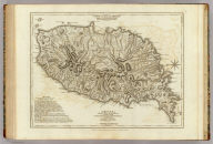 Carte de l'Isle de la Grenade, cedee a la Grande Bretagne par le dernier Traite de Paix. Grenada divided into its parishes, surveyed by order of his excellency Governor Scott, and engraved by Thomas Jefferys, Geographer to the King. London, printed for Robt. Sayer, Map & Printseller, no. 53 in Fleet Street, as the Act directs, 20 Feby. 1775
