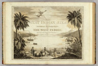 Engraved Title Page: West-India atlas: or, a compendious description of the West-Indies.