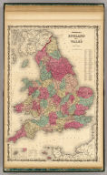 Johnson's England And Wales By Johnson & Browning. (with) Scilly Isles. No. 60-61.