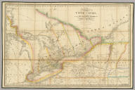 A Map of the Province of Upper Canada, describing all the new settlements, townships, &c. with the countries adjacent from Quebec to Lake Huron. Compiled from the original documents in the Surveyor General's Office. London, Published by Jas. Wyld, Geographer to Her Majesty, Charing Cross East. 1838.