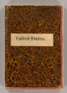 (Covers to) Watson's New County and Railroad Map of the United States and the Dominion of Canada Compiled From the Latest Official Sources, 1874. Published by Gaylord Watson, 16 Beekman St., New York. Entered ... 1871, by Gaylord Watson ... Washington. (with) 5 inset maps: Routes of the Union, Central & Kansas Pacific Railroad, Vicinity of Boston, Vicinity of Philadelphia, Vicinity of New York, Lower Part of Florida.