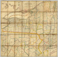 Map of the State of New York with part of the States Of Pennsylvania, New Jersey &c. Compiled Corrected and Published from the most recent Authorities and accurate Surveys by Amos Lay 1817. Entered ... 12th day of May 1817 by Amos Lay ... New-York.