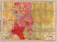 Rand, McNally & Co.'s new geological map of Colorado. Copyright, 1879, by Rand, McNally & Co.