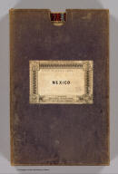 (Covers to) Rand, McNally & Co's. general map of the Republic of Mexico constructed from the best authorities showing completed & proposed railways, steamship routes and telegraphic communications. Chicago, U.S. 1882. Rand, McNally & Co., Map Publisher and Engravers, Chicago, Ill. Copyrighted, 1882 by Rand, McNally & Co., Chicago, Ill.