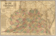 Lloyd's official map of the State of Virginia from actual surveys by order of the Executive 1828 & 1859. Corrected and revised by J.T. Lloyd to 1862, from surveys made by Capt. W. Angelo Powell, of the U.S. Topographical Engineers of Gen. Rosencrans' Staff. Price 25cts. ... J.T. Lloyd, Publisher, 164 Broadway, New York ... Entered ... 1861 by J.T. Lloyd ... New York.