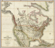 Map of North America from 20 to 80 Degrees North Latitude Exhibiting The recent Discoveries, Geographical and Nautical, Drawn chiefly from the Authorities of M. De Humboldt, Lieutt. Pike, Messrs. Lewis and Clarke, Sir Alexr. MacKenzie, Mr. Hearne, Coll. Bouchette, Captns. Vancouver, Ross, Parry & Franklin, also describing the Boundary Lines between the Territories of Great Britain & Spain with the United States. London, Published by Jas. Wyld, (successor to W. Faden) No. 5, Charing Cross. Geographer to His Majesty, and to H.R.H. the Duke Of York. June 1st 1823.