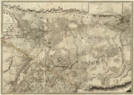 (Composite of western sheets). (To His Royal Highness George Augustus Frederick ... This Topographical map of the Province of Lower Canada, shewing its division into Districts, Counties, Seigniories, & Townships ... Is ... Most gratefully dedicated by ... Joseph Bouchette, His Majesty's Surveyor General of the Province & Lieutt. Colonel C.M. ... Published by W. Faden, Charing Cross, Augst. 12th. 1815. Engraved by J. Walker & Sons, 47 Bernard Street, Russell Square, London. J. Walker sculp). (with) Town of Three Rivers.