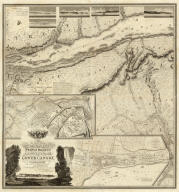 (Composite of eastern sheets) To His Royal Highness George Augustus Frederick ... This Topographical map of the Province of Lower Canada, shewing its division into Districts, Counties, Seigniories, & Townships ... Is ... Most gratefully dedicated by ... Joseph Bouchette, His Majesty's Surveyor General of the Province & Lieutt. Colonel C.M. ... Published by W. Faden, Charing Cross, Augst. 12th. 1815. Engraved by J. Walker & Sons, 47 Bernard Street, Russell Square, London. J. Walker sculp. (with) Town of Three Rivers. (with) City of Quebec. (with) Town of Montreal ...