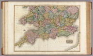 England, southern part. Drawn under the direction of Mr. Pinkerton by L. Hebert. Neele sculpt. 352 Strand. London: published 4th. June 1811 by Cadell & Davies, Strand, & Longman, Hurst, Rees, Orme, & Brown, Pater-Noster Row.