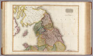 England, northern part. Drawn under the direction of Mr. Pinkerton by L. Hebert. Neele sculpt. 352 Strand. London: published March 25th. 1811 by Cadell & Davies, Strand, & Longman, Hurst, Rees, Orme, & Brown, Pater-Noster Row.