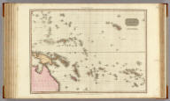 Polynesia. Drawn under the direction of Mr. Pinkerton by L. Hebert. Neele sculpt. 352 Strand. London: published Janr. 1st. 1813, by Cadell & Davies, Strand & Longman, Hurst, Rees, Orme, & Brown, Paternoster Row.