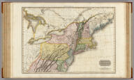 United States of America, northern part. Drawn under the direction of Mr. Pinkerton by L. Hebert. Neele sculpt. 352 Strand. London: published 2d. April 1810 by Cadell & Davies, Strand & Longman, Hurst, Rees, Orme, & Brown, Pater Noster Row.