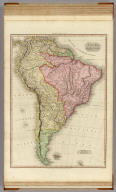 South America. Drawn under the direction of Mr. Pinkerton by L. Hebert. Neele sculpt. 352 Strand. London: published 4th. June 1811 by Cadell & Davies, Strand & Longman, Hurst, Rees, Orme, & Brown, Pater Noster Row.