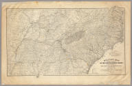 Military map showing the marches of the United States Forces under the command of Maj. Genl. W.T. Sherman, U.S.A. During the years 1863, 1864, 1865 ... Drawn by Capt. William Kossak ... and John B. Muller, draughtsman. St. Louis, Mo., 1865. Printed by Joseph F. Gedney. Engraved at Head Qrs., Corps of Engineers, U.S.A. by H.C. Evans & F. Courtenay.
