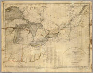 To the officers of the Army and the citizens of the United States this map of Upper and Lower Canada and United States, contigious (sic). Contracted from the manuscript surveys of P.F. Tardieu. Is respectfully inscribed by the public's most obedient servant Thomas Kensett. Copyright secured and entered ... November 4th, 1812. Kensett sculp. Cheshire, Conn.