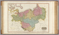 Prussian Dominions. Drawn under the direction of Mr. Pinkerton by L. Hebert. Neele sculpt. 352 Strand. London: published August 1st. 1810, by Cadell & Davies, Strand & Longman, Hurst, Rees, Orme, & Brown, Pater Noster Row.